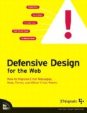 37signals's Defensive Design for the Web