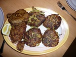 Schnitzel and Bubble & Squeak