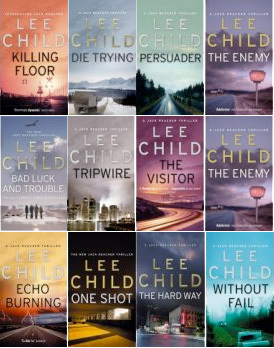 Lee Child Covers